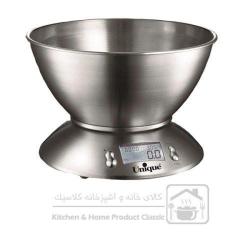 ترازو آشپزخانه دیجیتال یونیک کد 6580