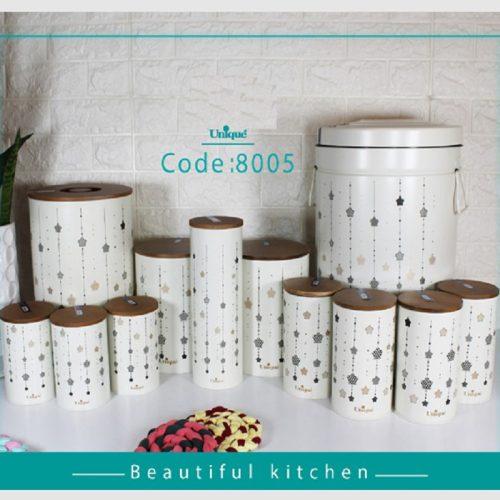 سرویس آشپزخانه فانتزی درب بانبو یونیک UN-8005